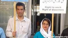 Farhad Meysami und Nasrin Sotudeh, iranische Menschenrechtler