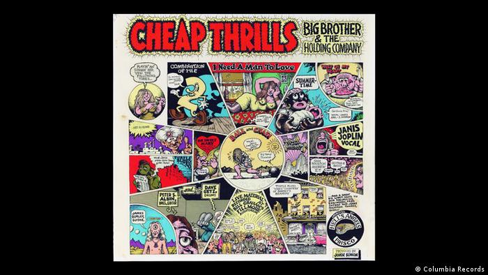 Cover of album Cheap Thrills by Big Brother and the Holding Company (Columbia Records)