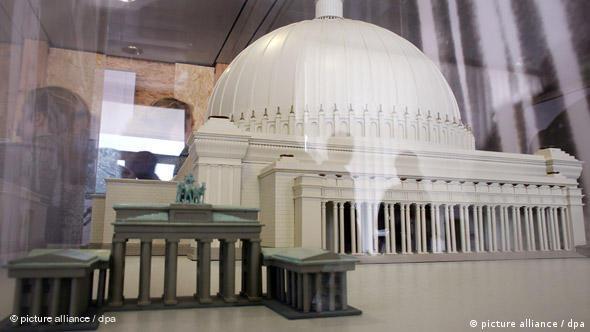 Макет Народной палаты, которую Шпеер собирался построить в Берлине.