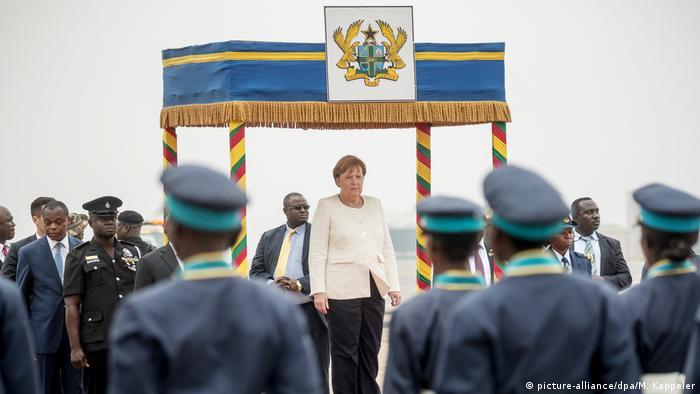 Kanzlerin Merkel besucht Ghana