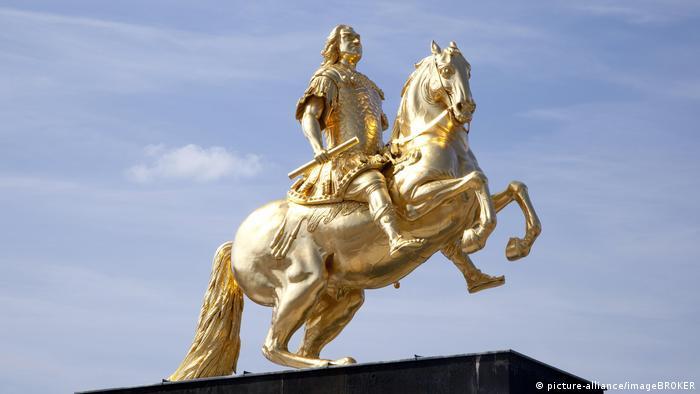Памятник Августу Сильному в Дрездене