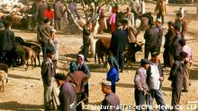 China Bazaar von Uighurs in Xinjiang (picture-alliance/CPA Media Co. Ltd)