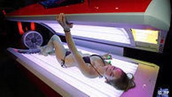 Deutschland Gesundheit Krebs Solarien Krebshilfe