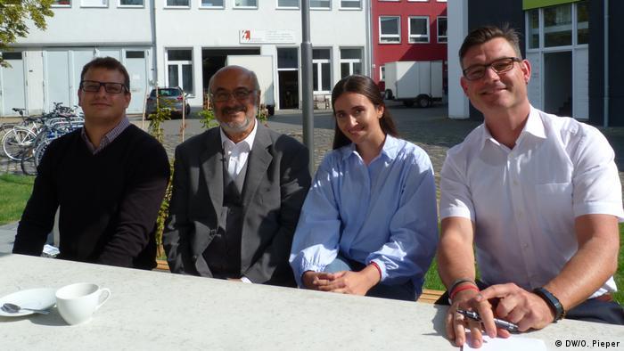 Deutschland | Bundespräsident Steinmeier zu Besuch bei Coach e.V.