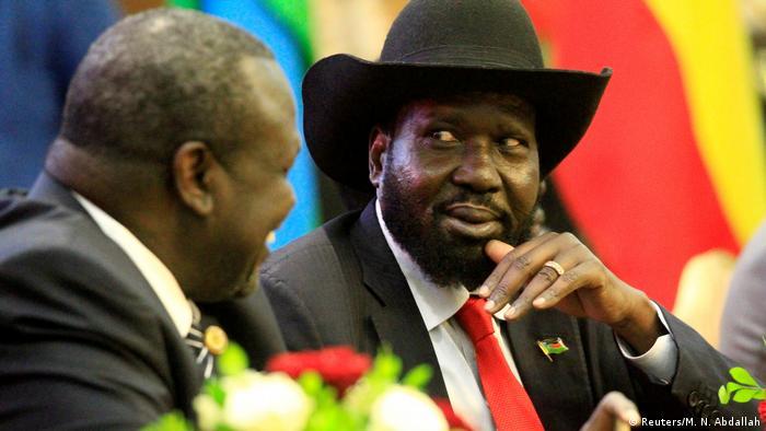 Südsudan - Riek Machar und Salva Kiir