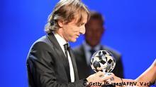 CL- Auslosung | Krönung von Luka Modric zum Europas Fußballer des Jahres in Monaco