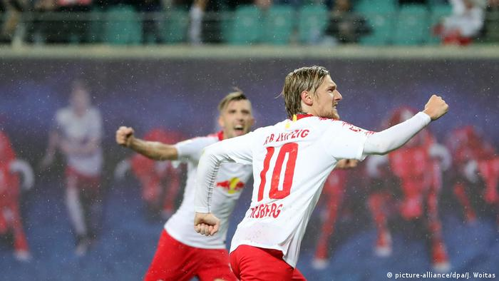 Europa League | RB Leipzig - Sorja Luhansk 3:2 (picture-alliance/dpa/J. Woitas)