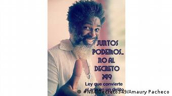 Kuba Kampagne gegen den Dekret § 349
