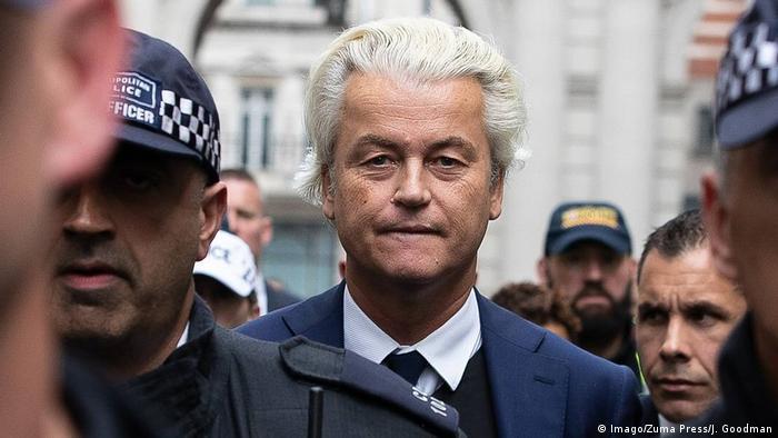 Anti Islam Dutch Politician Geert Wilders Cancels Muhammad Cartoon Contest News Dw 30 08 2018