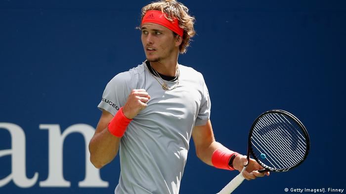 Us Open Zverev Dominant And Kerber Determined On Good Day For