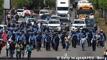 Honduras Tegucigalpa Proteste gegen Regierung