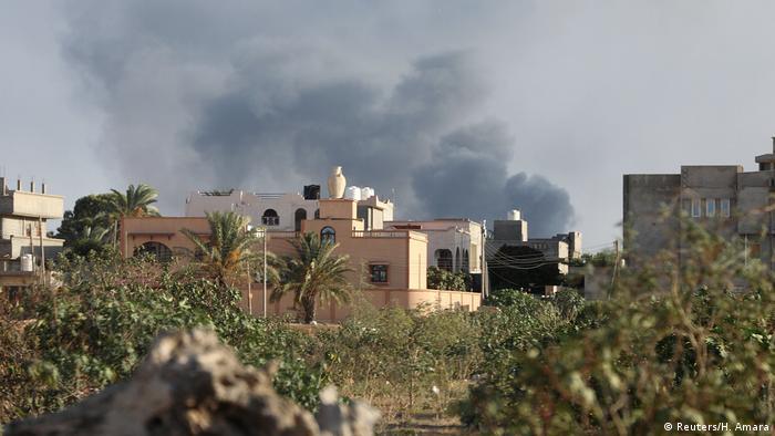 Libyen Tripolis Kämpfe zwischen Milizen (Reuters/H. Amara)