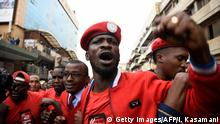 Uganda Kampala Oppositioneller Bobi Wine