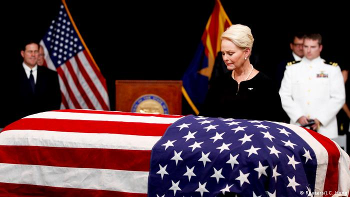 Phoenix Trauerfeier für John McCain