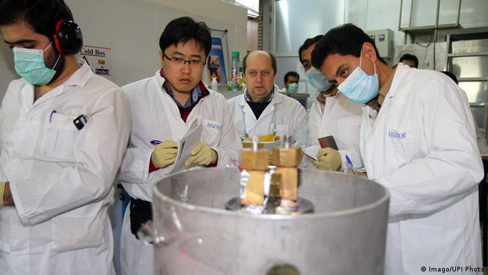 بازرسان سازمان انرژی اتمی در ایران