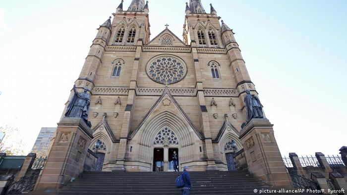 St. Mary's Cathedral in Sydney (picture-alliance/AP Photo/R. Rycroft)