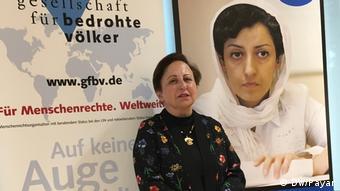Menschenrechtssitzung Berlin (DW/Payar)