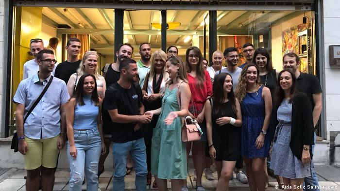 Balkan Booster Projekt verbindet junge Journalisten der Balkan