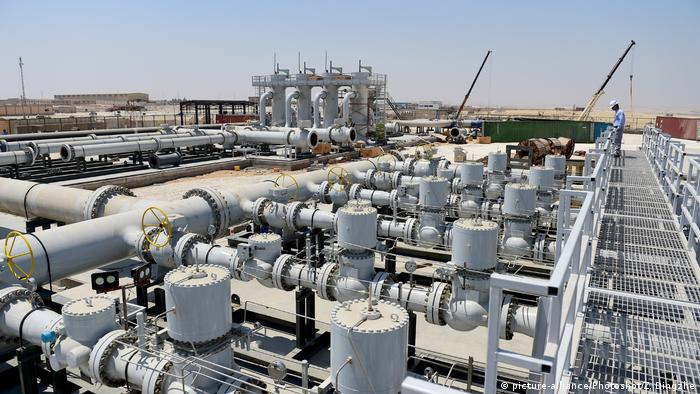 Beni Suef gas-fired power plant in Egypt