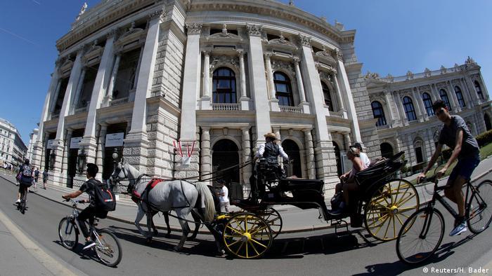 Traditionelle Kutsche in Wien, Fiaker