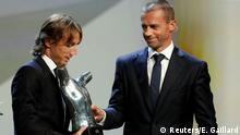 Fußball Champions League Bester Fußballer des Jahres Luka Modric