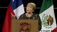 August 7 2018 Rede von Michelle Bachelet CIUDAD DE MEXICO Universität UNAM Catedra