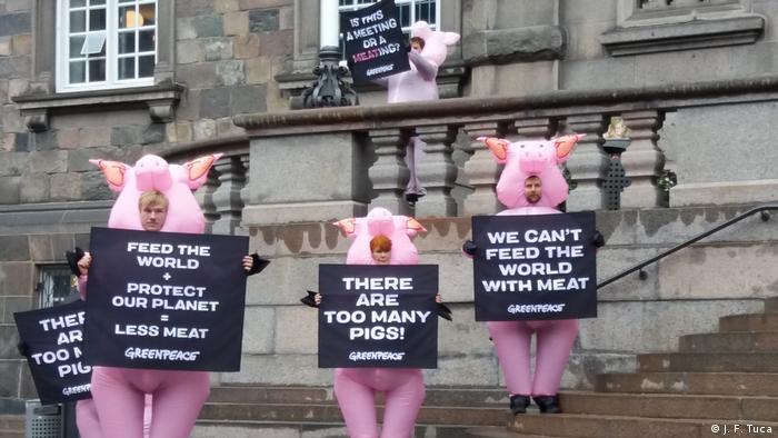 Protest Greenpeace-Copenhaga (J. F. Tuca)