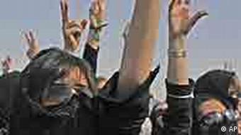 صحنهای از تظاهرات مخلفان دولت