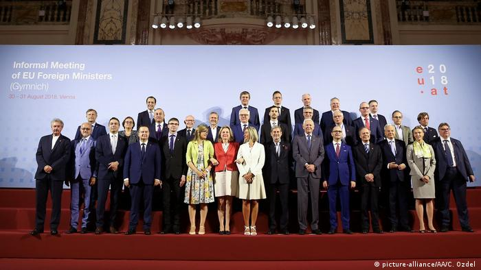Österreich EU-Außenministertreffen in Wien