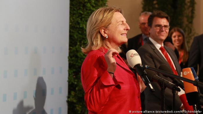 Österreich EU-Außenministertreffen in Wien | Außenministerin Karin Kneissl (picture-alliance /picturedesk.com/K. Schöndorfer)