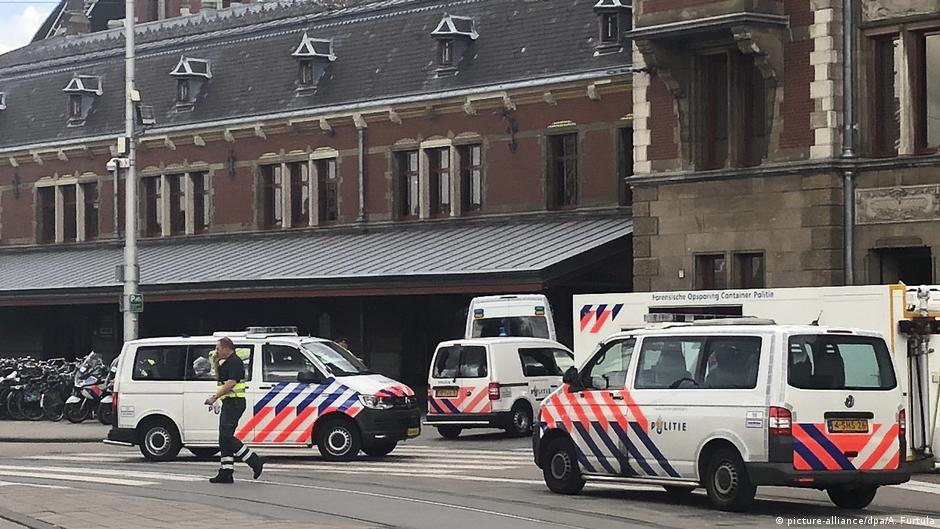 Германия подключилась к расследованию нападения с ножом в Амстердаме