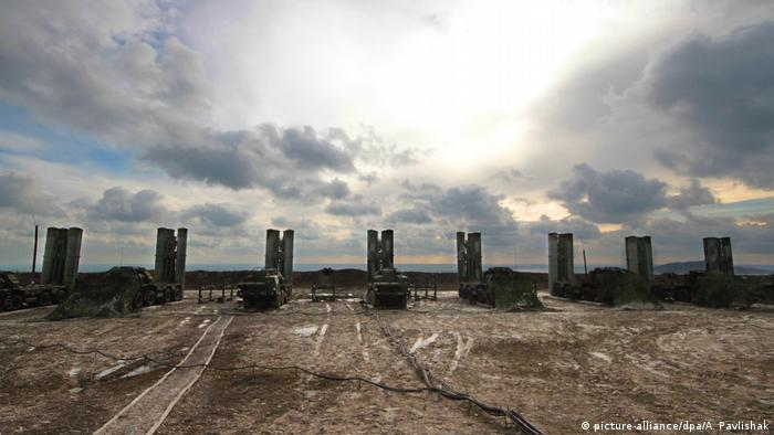 S-400 anti-aircraft defense systems during Caucasus 2016 strategic drills