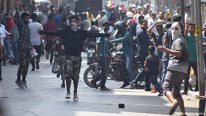 Indien Proteste in Kaschmir