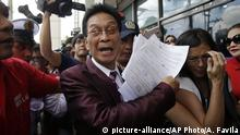 Salvador Panelo, legal counsel to Rodrigo Duterte (picture-alliance/AP Photo/A. Favila)