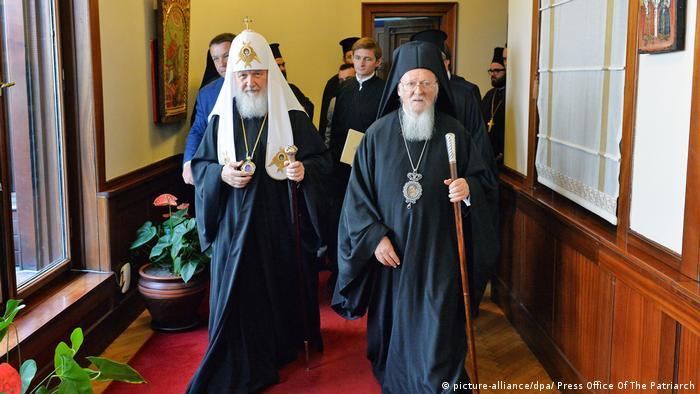 Istanbul: Patriarch Kirill and Patriarch Bartholomew