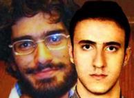 محمد کامرانی (راست) و محسن روحالامینی از قربانیان شکنجه و بدرفتاری در بازداشتگاه کهریزک