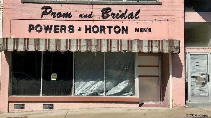 A vacant shop