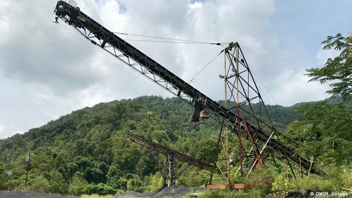 A coal chute in eastern Kentucky