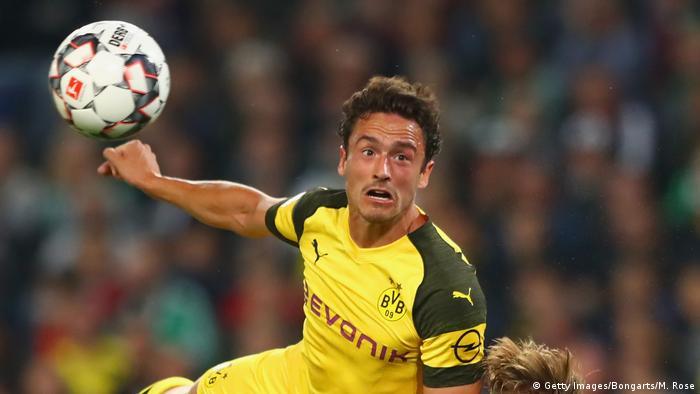 Borussia Dortmund′s Thomas Delaney: ′I like to take responsibility ...