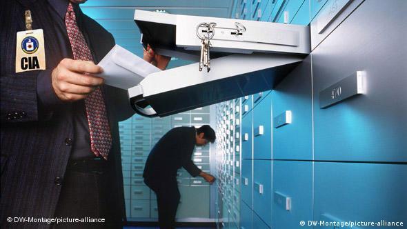 Flash Wochenrückblick Bildergalerie für 31.07. 2009 Symbolbild US Zugriff auf europäische Bankdaten (DW-Montage/picture-alliance)