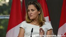 Kanada Außenministerin Chrystia Freeland