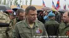Ukraine Alexander Sachartschenko Rebellenführer