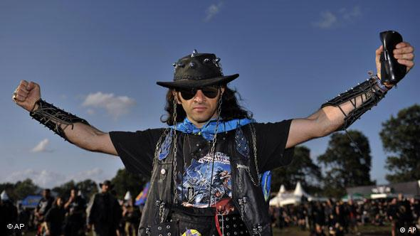 Heavy Metal Fan in Wacken (Quelle: ap)