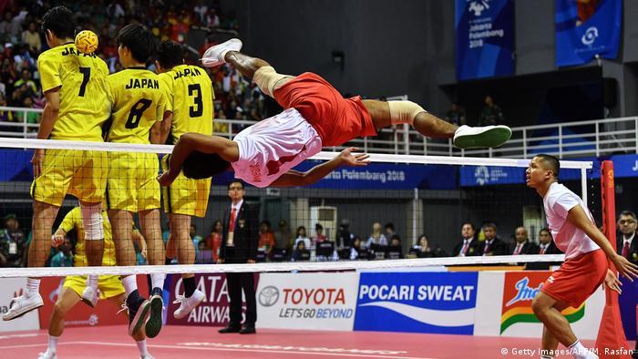 Palembang 18. Asian Games 2018 SEPAK TAKRAW (Getty Images/AFP/M. Rasfan)