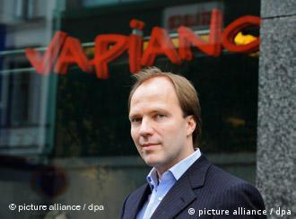 Грегор Герлах - один из основателей Vapiano