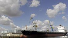Deutschland Werften Wadan in Wismar Insolvenzantrag