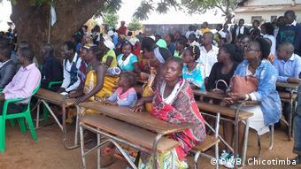 Mosambik Lese- und Schreibwoche in Manica