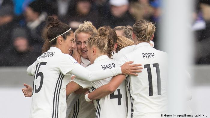 1128ce890d8 Women′s World Cup qualifying  Germany beat Iceland to take top spot ...
