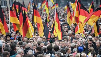 Deutschland | Rechte Demo in Chemnitz