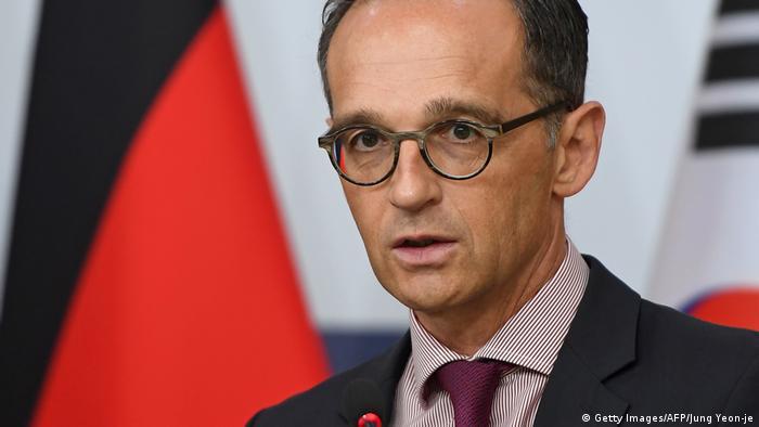 هایکو ماس، وزیر خارجه آلمان